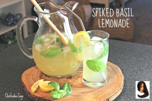 Sommer-Drink-Serie: Spiked Basil Lemonade