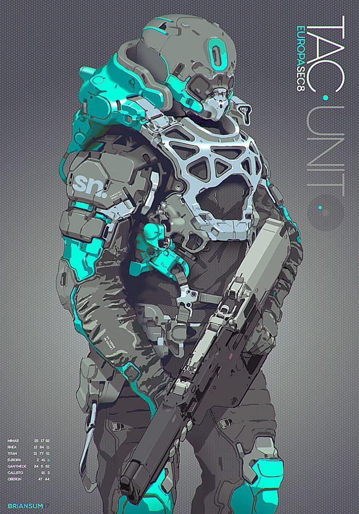 ArtStation - Tactical Units, Brian Sum