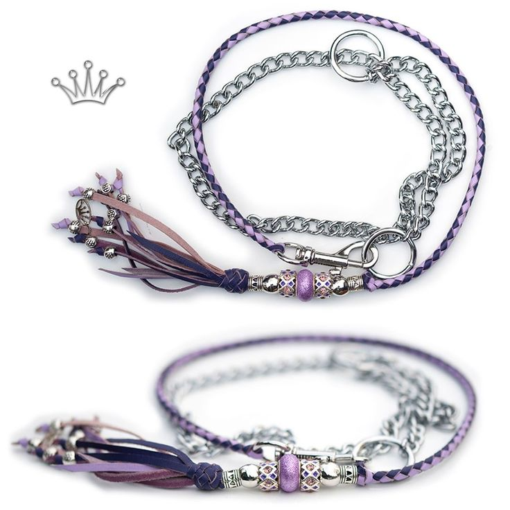 Kangaroo leather show lead in purple & lavender. This lead is sold, but I can make something similar. Visit my webshop for more information! * * * #showlead #showleads #showleash #dogshow #emoticon #emoticonleads #emoticonshowleads #kangarooleather #showdog #customlead #customshowlead #dogshows #utställningskoppel #kangarooleatherlead #dogshowlead