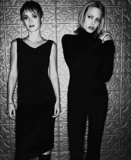 Winona Ryder & Angelina Jolie for girl interrupted
