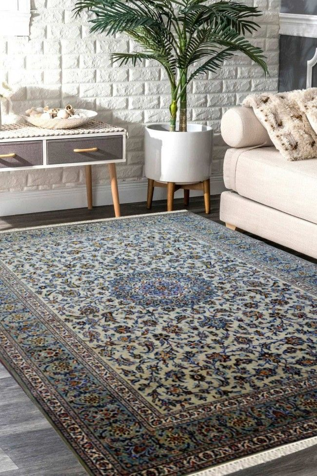 Find Chakra Medallion Kashan Wool Area Rug At Cheap Price In 2020
