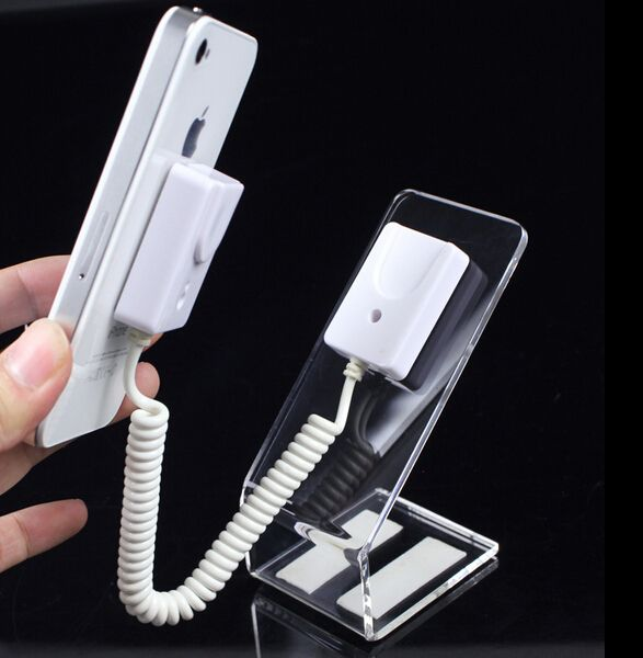Phone acrylic shelf display showing stand phone holder stand magnetic adhesive Anti-theft system phone rack  #Affiliate