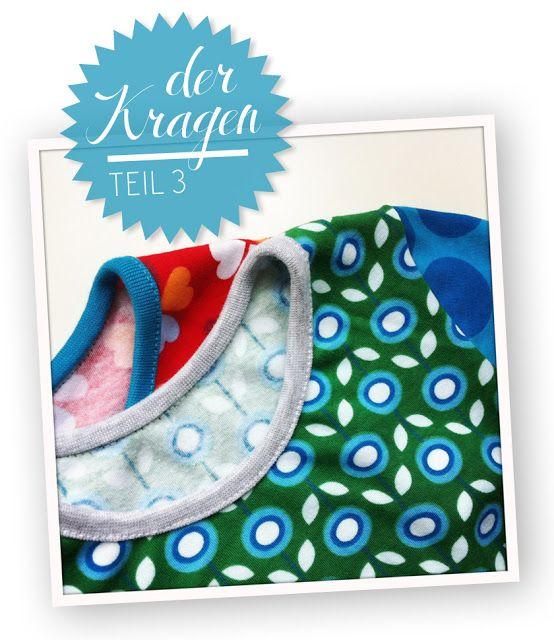 Hamburger Liebe: Kleines Kragenlatein – 3. Teil Naht nach vorne klappen an der Schulter/dann schaut man nicht so drauf
