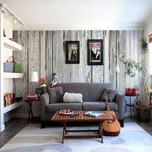Envío gratis gran mural salón dormitorio restaurante cafe bar ktv personalizada papel tapiz de fondo papel pintado de madera(China (Mainland))