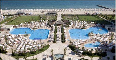 Majestic Sunny Beach - 62€ camera noapte Resort in prima linie de plaja Cazare Bulgaria
