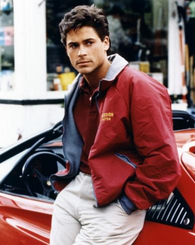 Rob Lowe- my first crush...