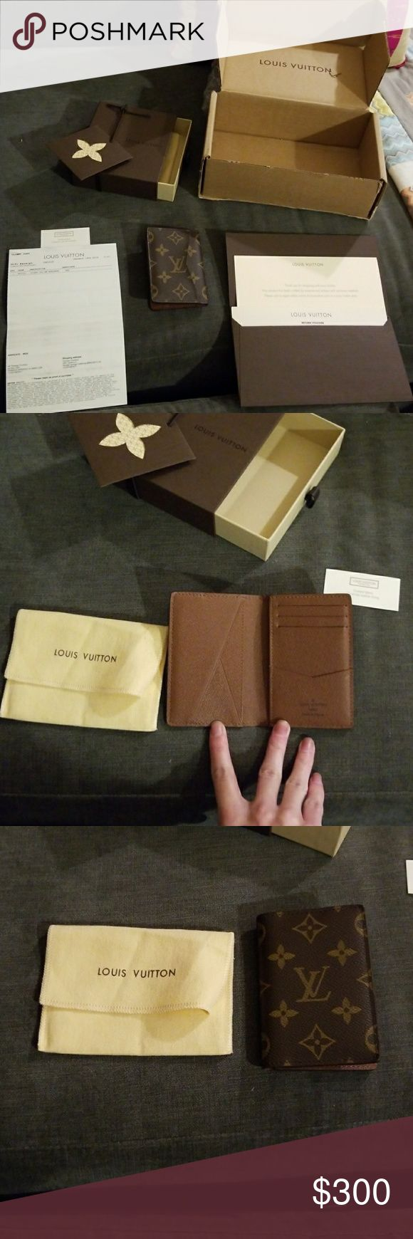 Authentic Small Louis Vuitton wallet Purchased in 2015 this small wallet has great details. In fantastic condition may e used for 2 months. Comes in ALL of the original packaging it was sent in when purchased including original reciept interior care card shipping box storage box and dust bag. Will make a fantastic gift. Even if its being gifted to yourself. Pockets are still tight most of them never used. Louis Vuitton Bags Wallets