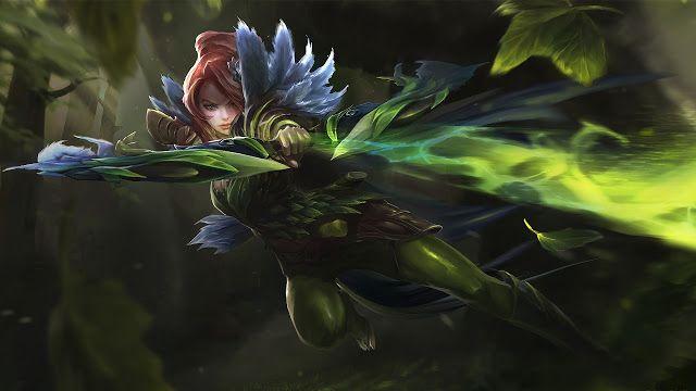 Cerita Hero Dota 2 : Windranger, Wanita Cantik yang Dicintai Oleh Angin