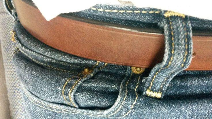 Baker's Oak Brown belt