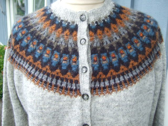 Knitting  -  Bohusstickning