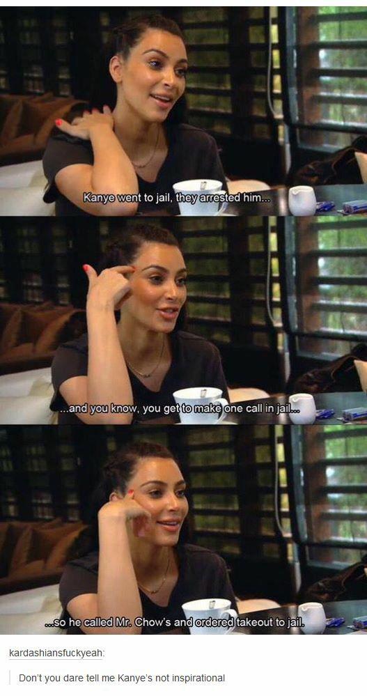 Kanye the inspiration