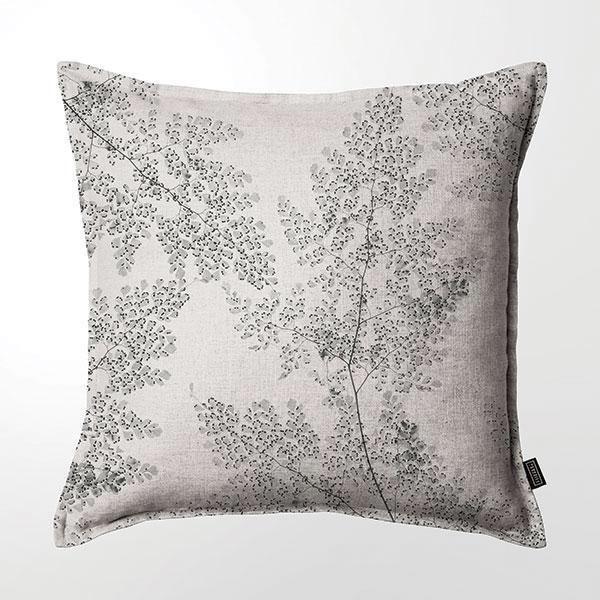 Scatter Cushion (DBL sided print ) - Silver Fern