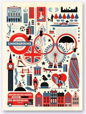 London Olympics print
