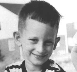 """Steven Spielberg was born in Cincinnati, Ohio, on December 18, 1947. """"I use my childhood in all my pictures, and all the time I go back there to find ideas and stories."""" Spielberg at 7 years old."""