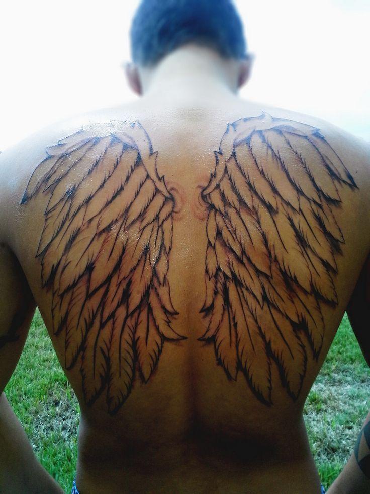 25 Angel Wings Tattoos Design Ideas Angel wings tattoo
