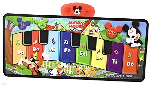 Disney Junior Mickey Mouse Music Mat (packaging may vary) //Price: $13.82 & FREE Shipping //