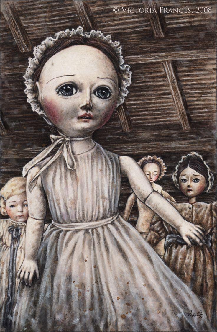 Enfantement by Victoria Frances