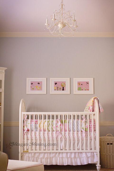 Blue/gray nursery