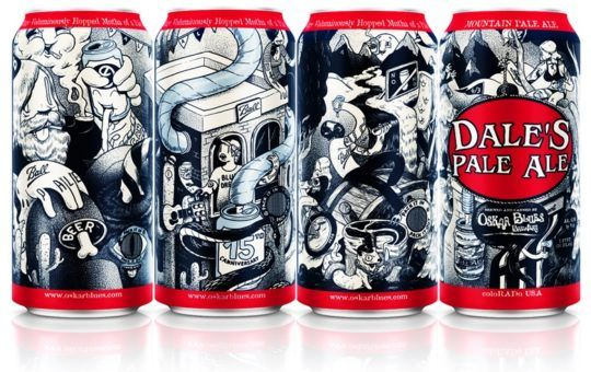 DALE'S PALE ALE CELEBRATES 15 YEARS OF CANNING WITH 16oz DRAFT CANS