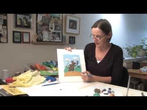 Making Plasticine Pictures: Part 3 Barbara Reid