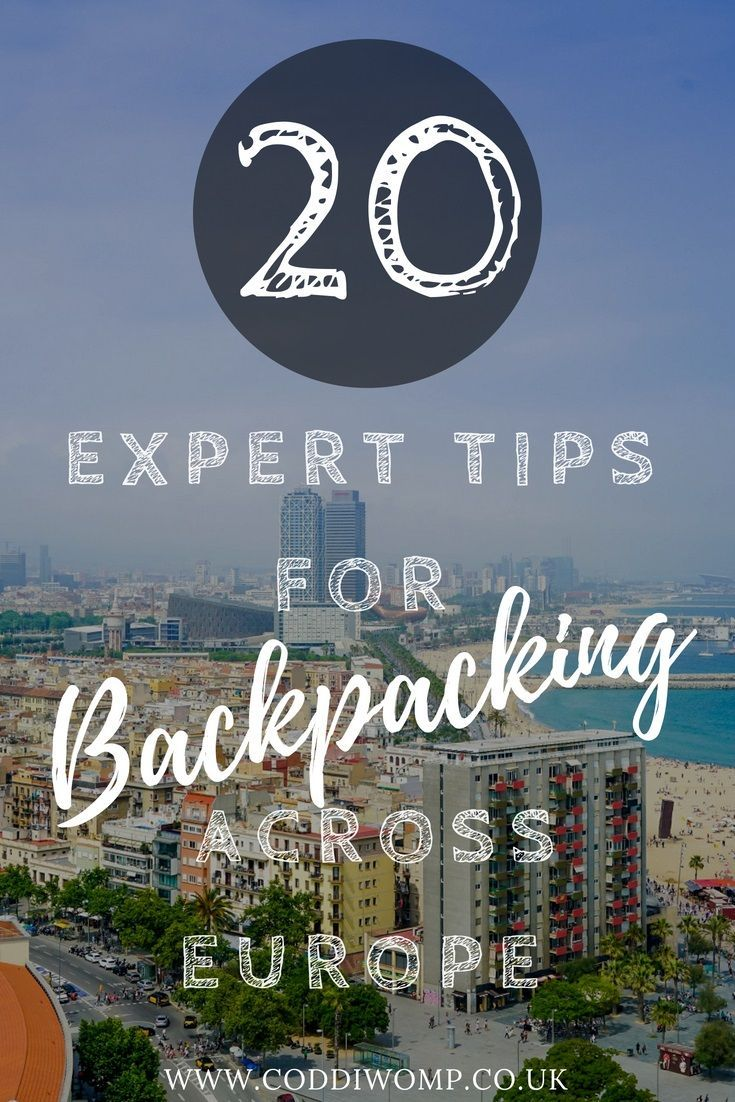 Backpacking across Europe? Heading to the continent? Travelling around Europe and planning your route? Check out this post to read the advice of 20 top travel bloggers who let you in on the best places to visit and offer some tips and inspiration along the way. #travel #backpacking #Europe #experts