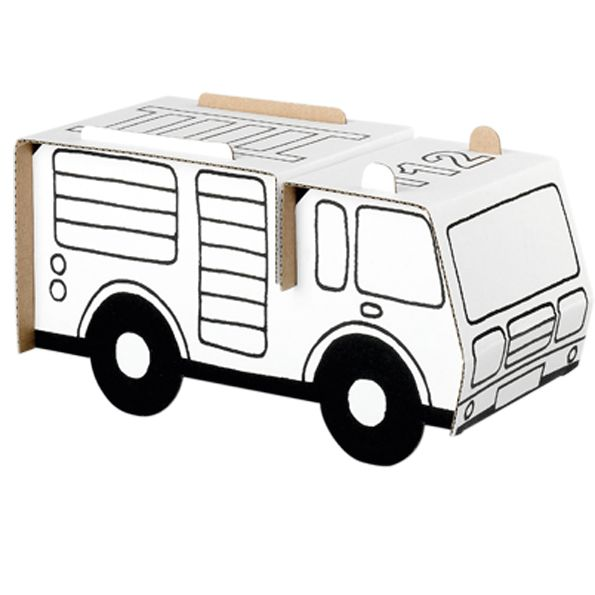 Fire Engine – crafts for kids