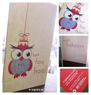 Holiday Stationery, 2011.