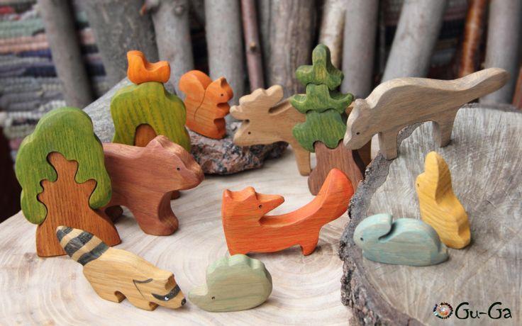деревянные фигурки купить