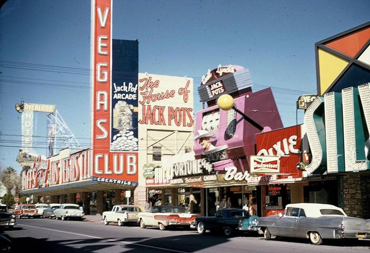 Photo history of Las Vegas resorts, casinos, hotels, motels in the 20th century