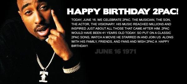Happy Birthday Boo! ♥ | Tupac Amaru Shakur | Pinterest
