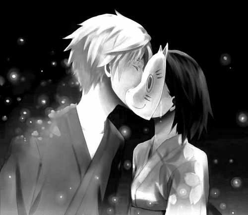 It was love at first sight, at last sight, at ever and ever sight. Hotarubi no Mori e | Gin and Hotaru