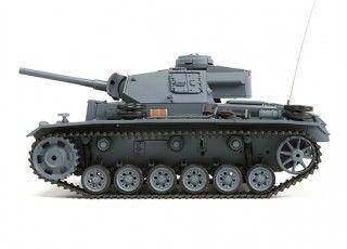 Panzer Kampfwagen III Ausf.L RC Tank RTR w/ Airsoft & Tx (US plug) (AR Warehouse)