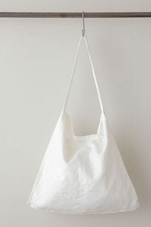 across the chest Fog Linen tote