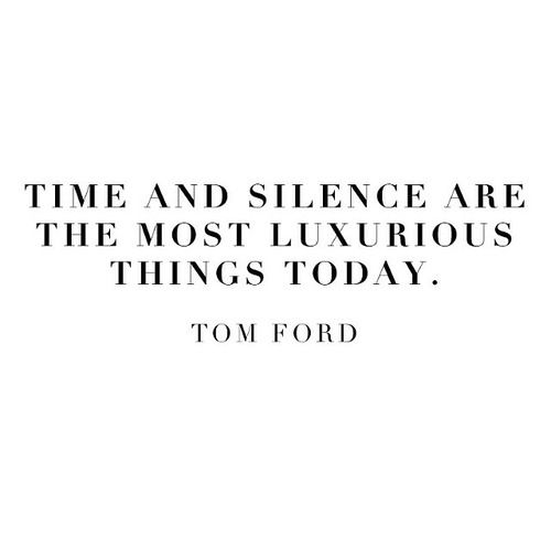 Time and silence
