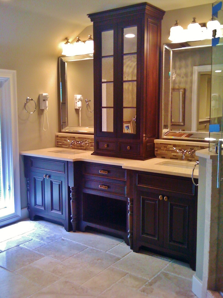 Master Bathroom Re Design Travertine Floors Set In The Versaille Or French Pattern Custom