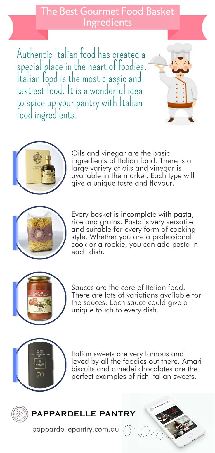 Authentic Italian food has created a special place in the heart of foodies. Italian food is the most classic and tastiest food. It is a wonderful idea to spice up your pantry with Italian food ingredients. Pantry of Pappardelle is offering a large range of Italian gourmet food product.