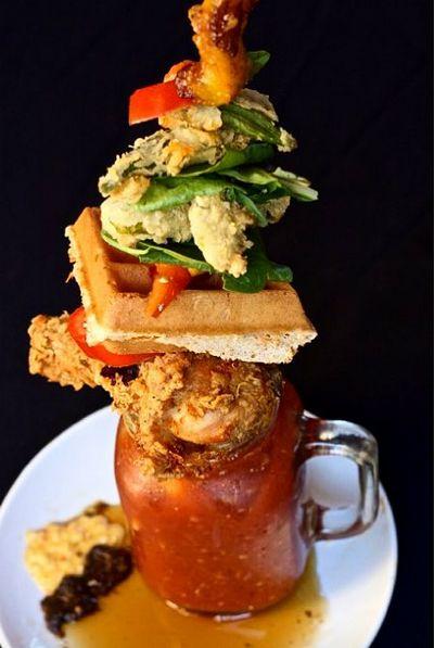 The Bloody Jerk | Courtesy of Harlem Restaurant