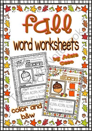 Words Related To Autumn: 95 Best Images About Word Work On Pinterest