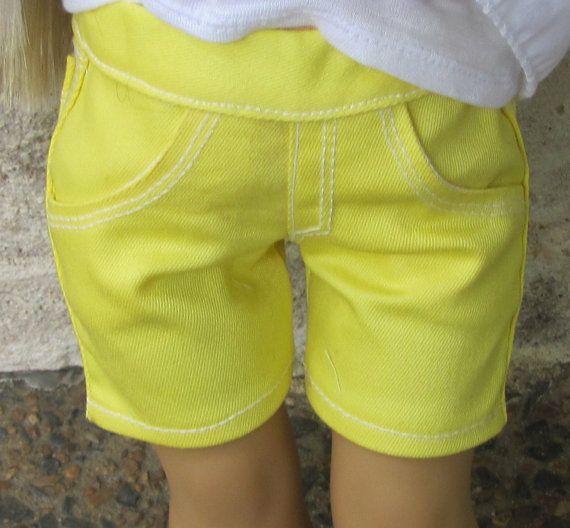 Neon Yellow Shorts Slub Tank and Outback Libby Top by AvannaGirl
