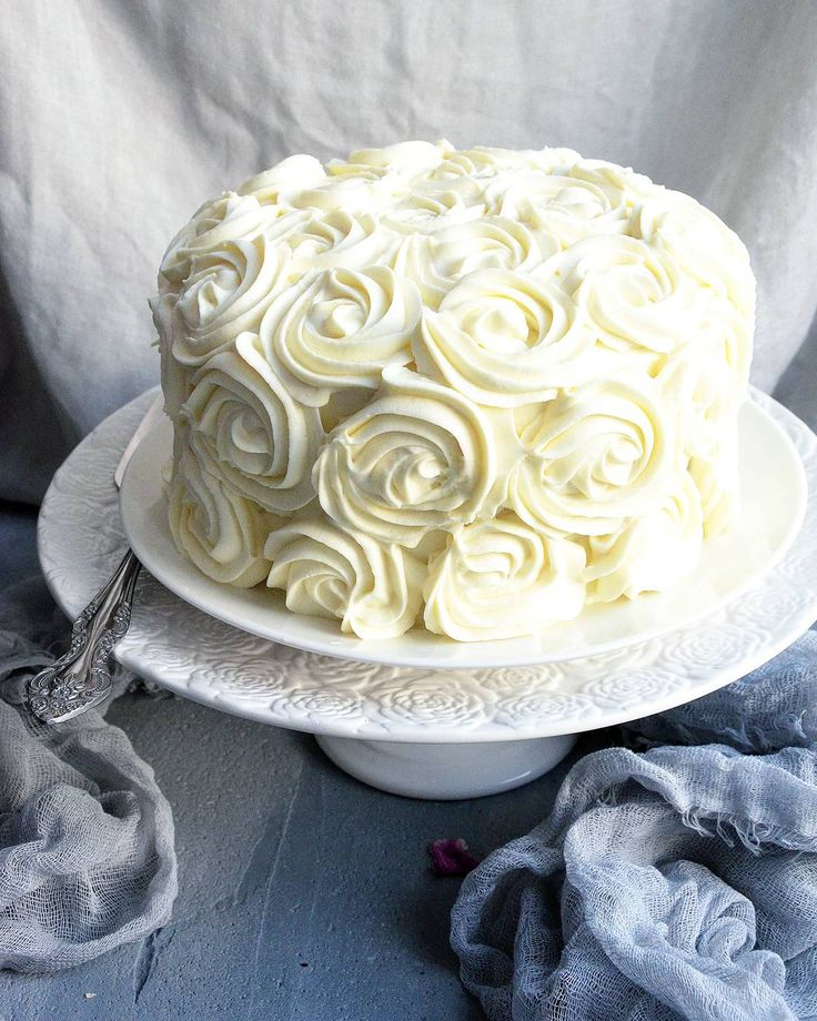 Ванильный торт | HomeBaked