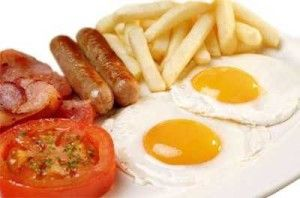 традиционный английский завтрак