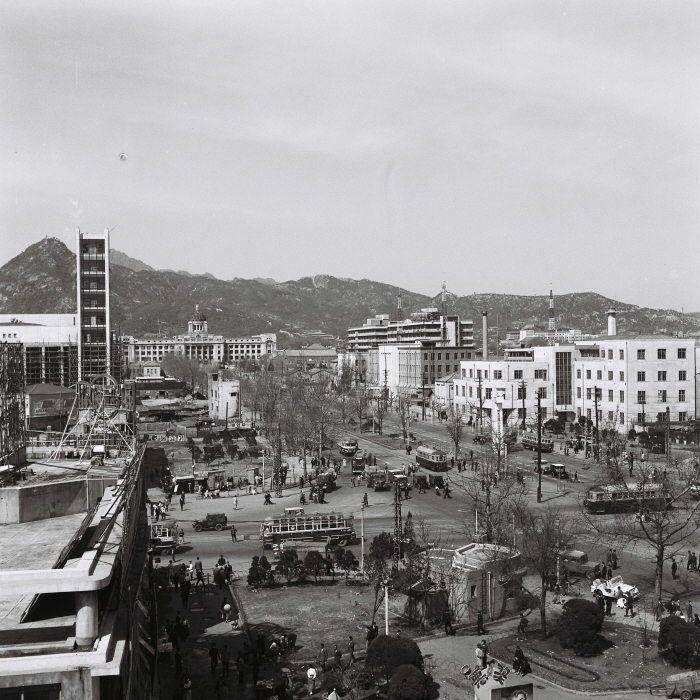 Seoul: Sejong-ro, 1960's