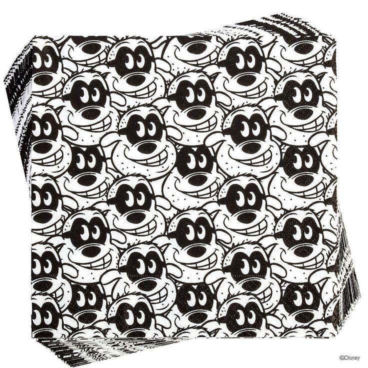 DISNEY Papierserviette Panzerknacker allover    Applaus für die Maus und ihre Freunde: Bei der Disney-Kollektion von Butlers stehen Mickey, Donald, Pluto & Co. höchstpersönlich im Rampenlicht. Ob auf Geschirr oder Küchenutensilien, ob auf Wohnaccessoires oder Postkarten, ob im Vintage-Stil oder ganz modern - überall kommen die beliebten Comic-Stars ganz groß raus. Da wünschen wir Ihnen viel Spa...