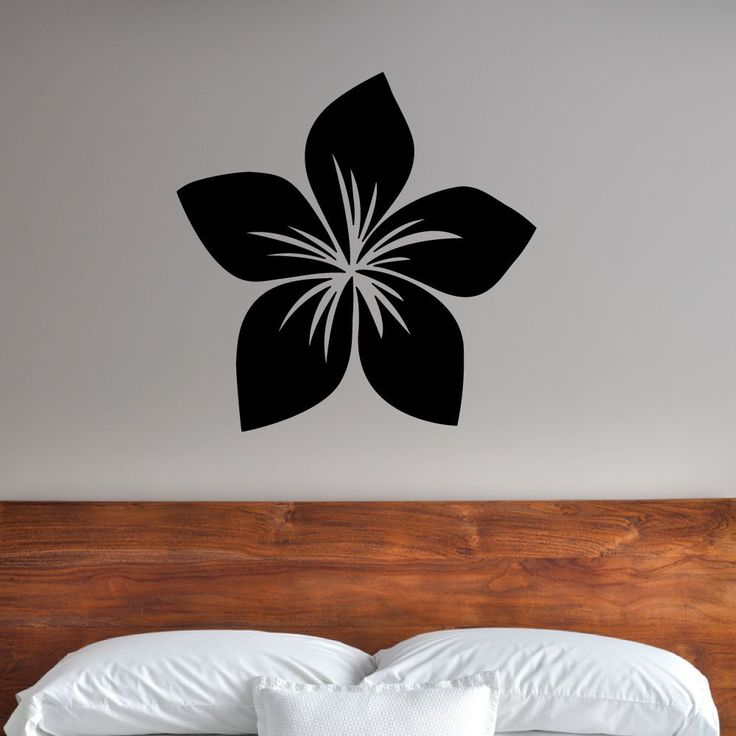 Tropical flower. - 0228 - Home Decor - Wall Decor - Flower - Flower shape - Tropical