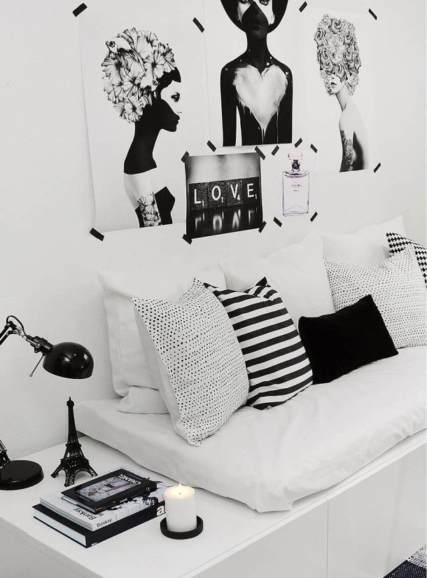 Black and White Interior20: