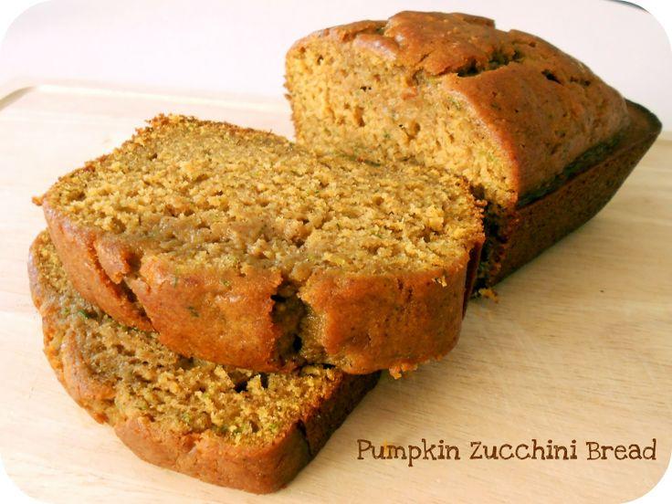 Pumpkin Zucchini Bread: Zucchini Recipe, Pumpkin Breads, Breads Recipe, Pumpkin Recipe, Pumpkins, Pumpkin Zucchini Breads, Zucchini Pumpkin, Six Sisters Stuff, Buttons Recipe