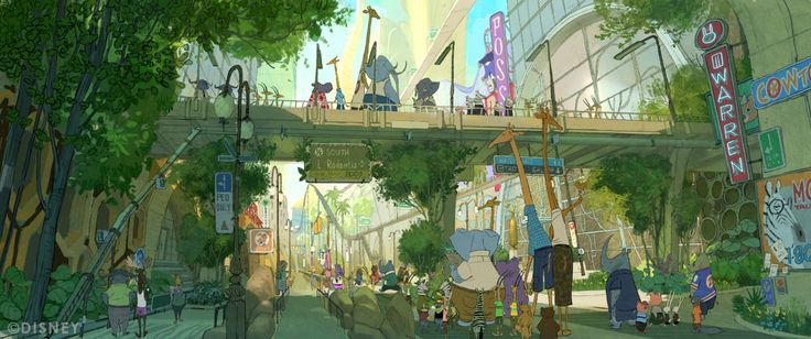 CORY LOFTIS — ZOOTOPIA is coming people! More released art by...