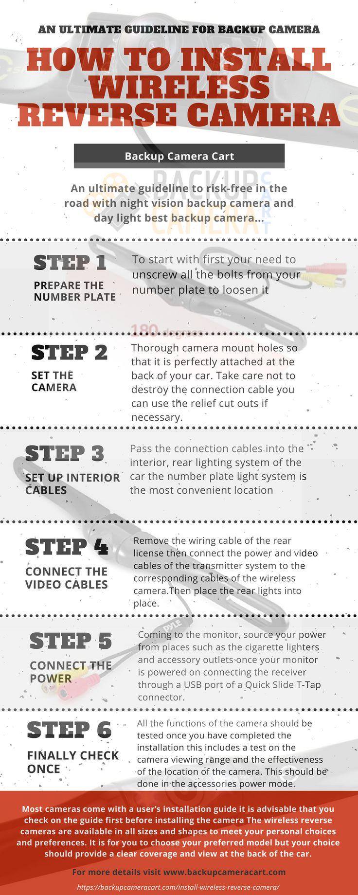 How to install backup camera