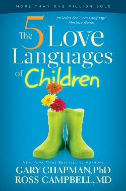 The 5 Love Languages of Children by Dr Gary Chapman. This series is just fascinating and has changed how I view and treat relationships!