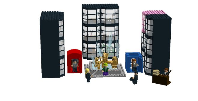 LEGO Ideas - Ministry of Magic From Harry Potter